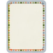 Beatrix Potter Playing Card 02- Blank