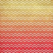 Chevron 18 Paper- Yellow & Red