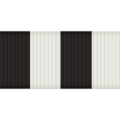 Medium Ribbon- Stripes- Black & White