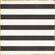 Stripes 21 Paper - Black & White