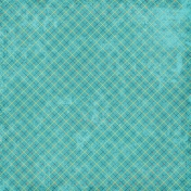 Distressed 13 Paper- Teal