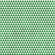 Geometric 23 Paper- Dark Green & White