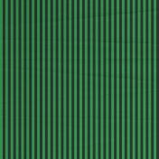 Stripes 54 Paper- Green & Black