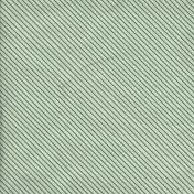 Stripes 67 Paper- Dark Green & White