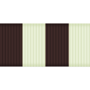 Thin Ribbon- Stripes 01- Brown & Mint