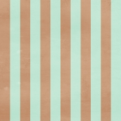 Stripes 79 Paper- Mint & Brown
