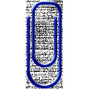 Blue Paper Clip 02