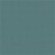 Polka Dots 41 Paper- Aqua & Black