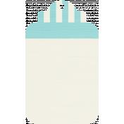 Tag 18- Aqua & White