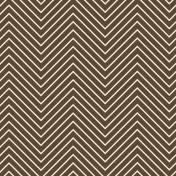 Chevron 03 Paper- Brown & White