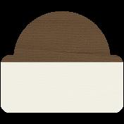 Tab 20- Brown & White