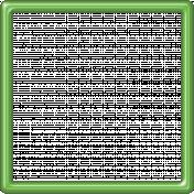 Light Green Plastic Frame 5x5