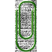 Light Green Paper Clip