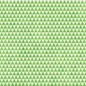 Geometric 23 Paper- Light Green & White