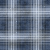 Navy Blue Grid Paper