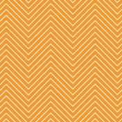 Chevron 03 Paper- Orange & White