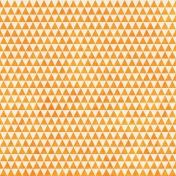 Geometric 23 Paper- Orange & White