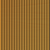 Stripes 54 Paper- Orange & Black