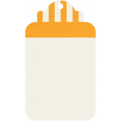 Tag 18- Orange & White