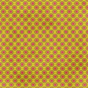 Geometric 05- Green & Pink