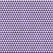 Geometric 23 Paper- Purple & White