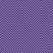 Chevron 03 Paper - Purple & White