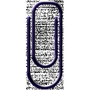 Purple Paper Clip