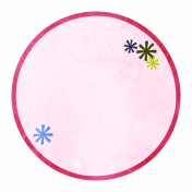 Asterisk Circle Tag