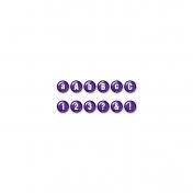 Color Basics Alpha- Purple