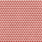 Geometric 23 Paper- Red & White