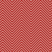 Chevron 03 Paper- Red & White