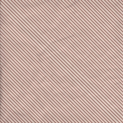 Stripes 67 Paper- Red & White