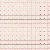 Grid 08 Paper- Pink & White