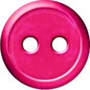 Paris Button- Hot Pink