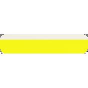 Yellow & White Tag