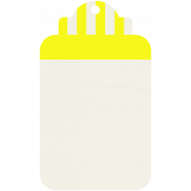 Tag 18- Yellow & White