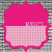 French Bracket- Merci