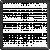 Black Plastic Frame 5x5
