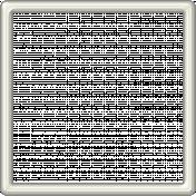 White Plastic Frame 5x5