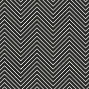 Chevron 03 Paper- Black & White