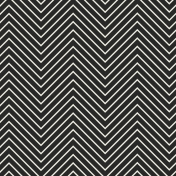 Chevron 03 Paper- Black & White