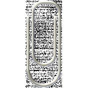 White Paper Clip