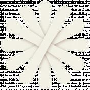 Paper Flower 23- White