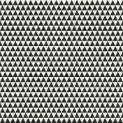 Geometric 23 Paper- Black & White