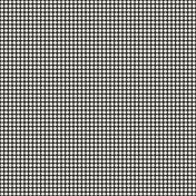 Polka Dots 41 Paper- Black & White