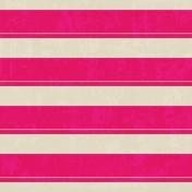 Stripes 62 Paper- White & Pink