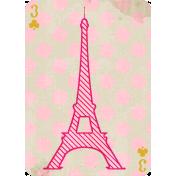 Paris Playing Card 03