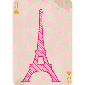 Paris Playing Card 03