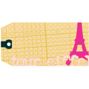 Eiffel Tower Tag