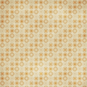 Circles 09 Paper- Orange